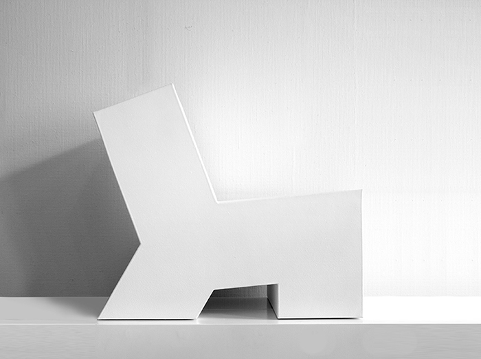 LONK white by Gerard de Hoop