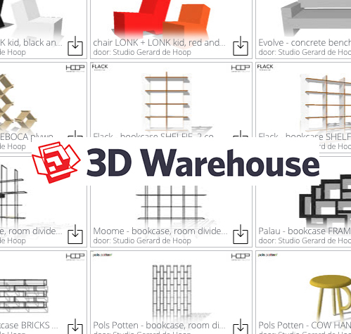 3D warehouse-Gerard de Hoop