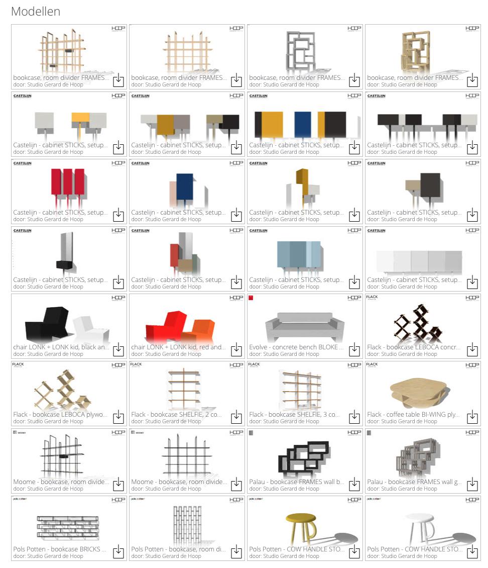 3D warehouse-Gerard de Hoop