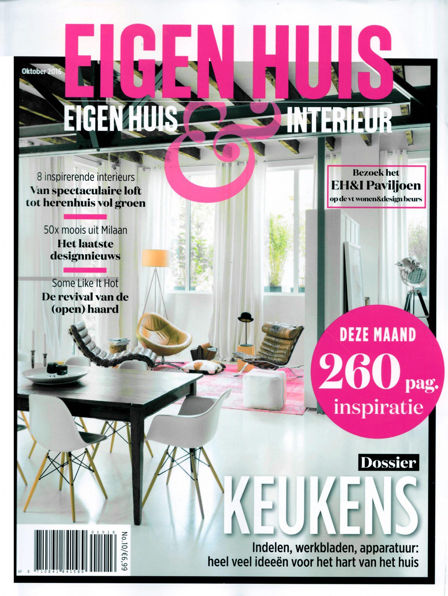 Eigen Huis & Interieur (Netherlands) October 2016 - FRAMES 2.5