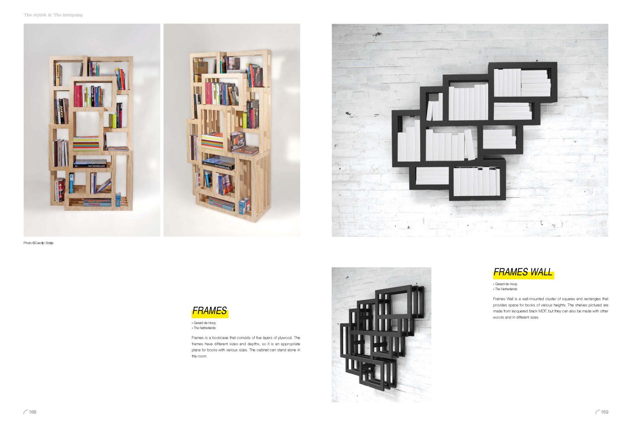 Pages from Bookshelf Design Frames