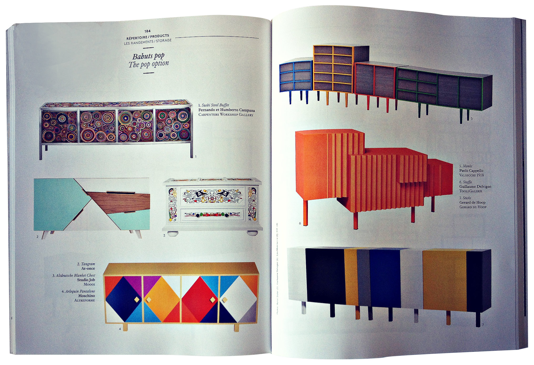 Architectoral Digest AD Collector 2012-no 7 Sticks