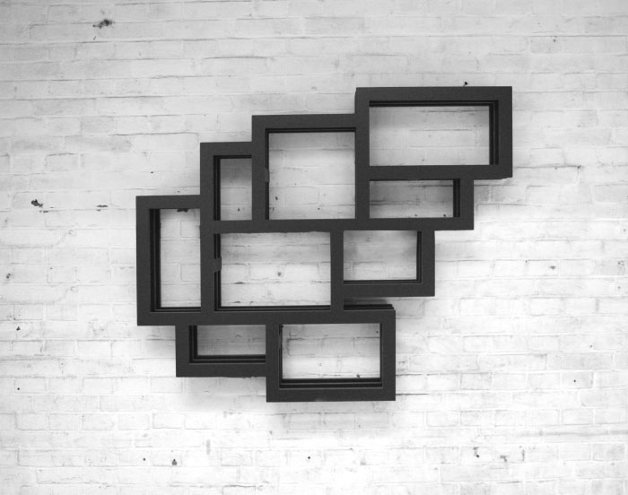 GERARD DE HOOP - FRAMES wall bookcase